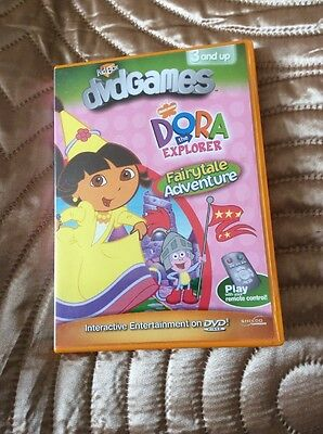 Dora The Explorer DVD Game