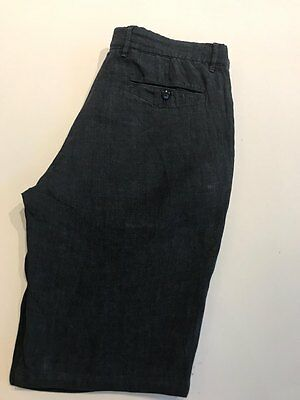 """Brand new  CP company linen chino shorts  Reg fit  Size 48 = w32""""    Length 22"""""""
