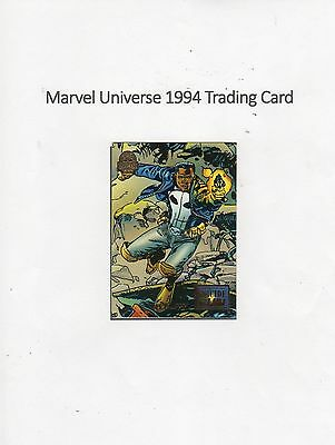 1994 Marvel Universe Trading Card #51 Suicide Run - Outlaw
