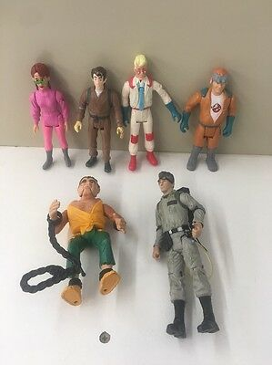 Ghostbusters Action Figures 5 Vintage And 1 2009 Figure Lot Of 6