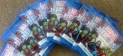 8 Woolworths Marvel Heroes Discs  X 8  - New & Unopened - Free Postage