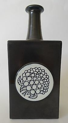 Vintage Rare Arabia Pottery Decanter / Flask by Hilkka Liisa Ahola, Finland 1967