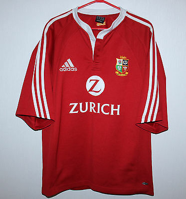 2005 British and Irish Lions tour to New Zealand rugby shirt Adidas Size L
