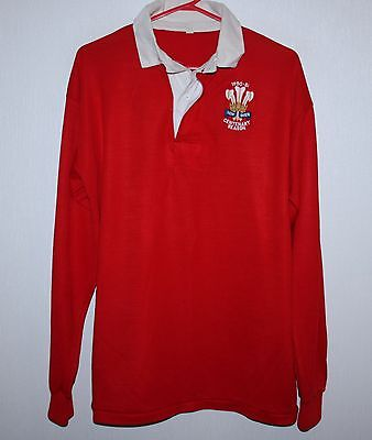Vintage Wales national rugby union team jersey Centenary season 81/82 1982