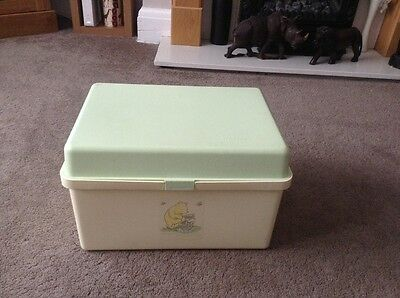 Mothercare Baby Changing Storage Box. Winnie The Pooh