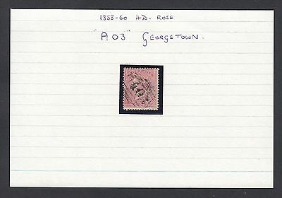 Guyana - English stamp obliterated A03 GeorgeTown........ .......(G23722) DD-142