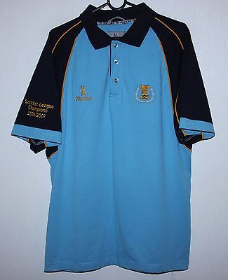 Currie RFC rugby shirt jersey Kukri Size L Scottish League Champions 06/07