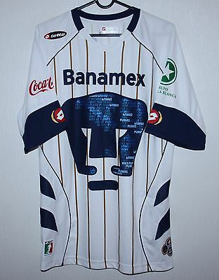 Pumas Morelos Mexico shirt Lotto Size L