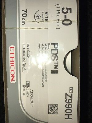 Nahtmaterial Ethicon PDS II,5-0,Z990H