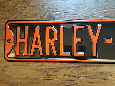 Ande Rooney Harley Davidson H-D Dr Motorcycle Man Cave Street Sign - 3' Long!