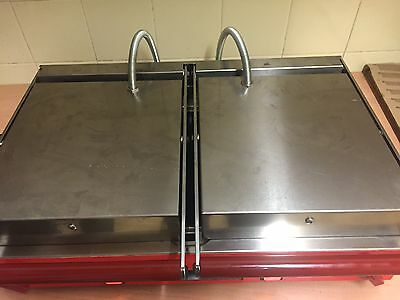 SIRMAN Panini Grill, Rubbed Top And Bottom Excellent Condition