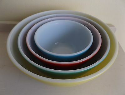 Pyrex Primary Colours Nesting Bowl Set