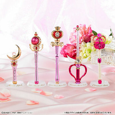 Bandai 25th Sailor Moon Fanclub limited Stick & Rod  MOON PRISM EDITION