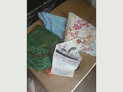 Vintage Hankies--4 total