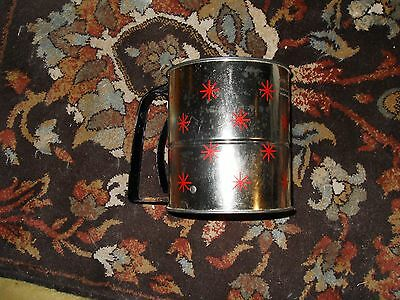 Androck Vintage Star 3 Screen Flour Sifter Kitchen Tool One Hand