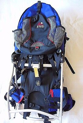 pre-owned Kelty baby Ridgeline Hiking Backpack Carrier blue ULTRA FAST SHIPPING