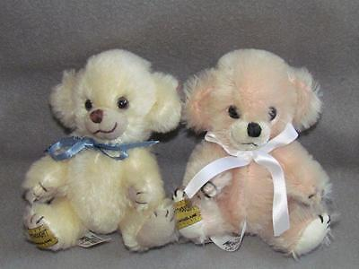 Merrythought Bears England Limited Edition Set of 2