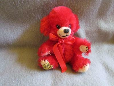 Merrythought Red Bear England Limited Edition