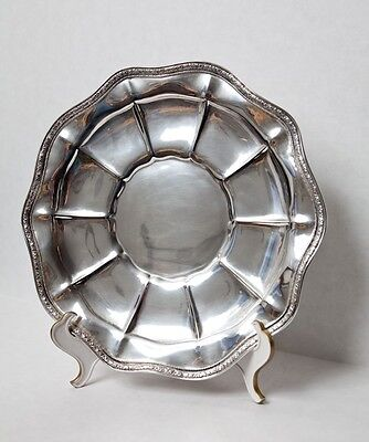 Frank M. Whiting Sterling Silver Charger Plate