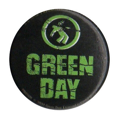 Green Day Logo 1 inch Button Pin Badge