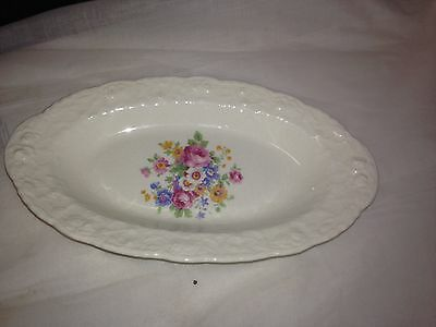 Posser Gosser China Rose Point Dish Made In US