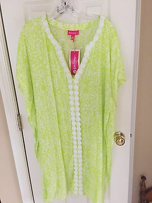 Lilly Pulitzer Beach Coverup Sz XL New With Tags
