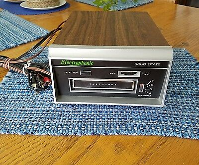 Electrophonic Solid State 8 Track Player
