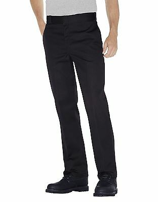 Dickies Mens Original Fit 874 Work Pant Black Classic Work Uniform All Sizes