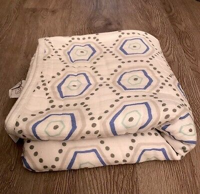 aden by aden + anais dream blanket, Grey And Blue
