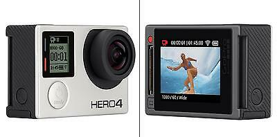 GoPro Hero 4 Silver Edition Action Camera Built in LCD Touchscreen Display