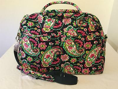 "New Vera Bradley ""Weekender"" Travel Bag/Duffel/Tote - Petal Paisley"