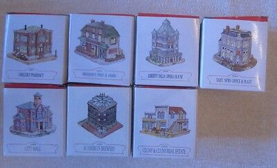 Lot of 7 Liberty Falls American Collection buildings NIB