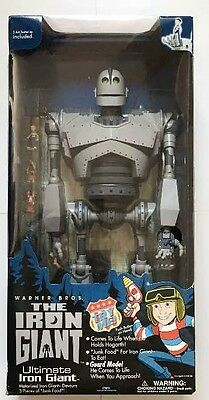 "Rare Ultimate The Iron Giant 20"" Big Action Figure Trendmasters"