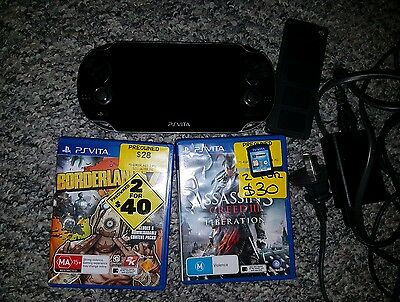 PS Vita 1000 Series With 8GB Memory Card and Games
