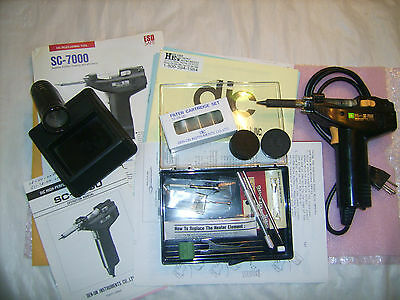 SC-7000 Den-on DIC High Performance Desoldering Tool one owner with extras
