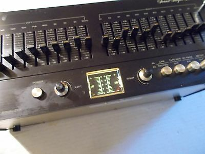 ADC Sound Shaper Two Mark I Stereo Frequency 12 Band Equalizer SS-2