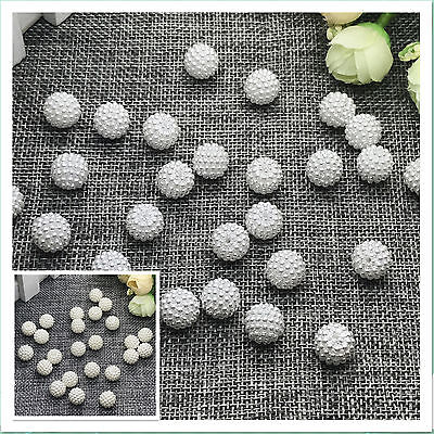 Wholesale 10mm 12mm 15mm Round Pearl Plastic Beads Lot Craft  Jewelry Making