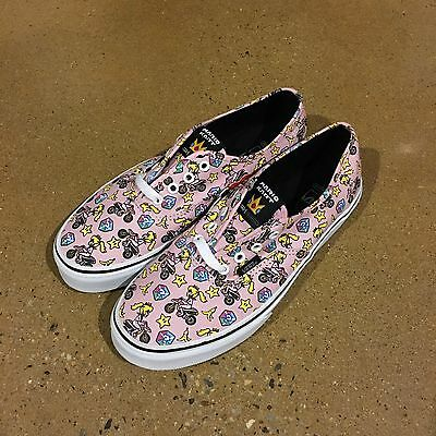 633e2996b38 VANS Authentic Nintendo Mario Kart Size 6 Kids Princess Peach BMX Skate  Shoes