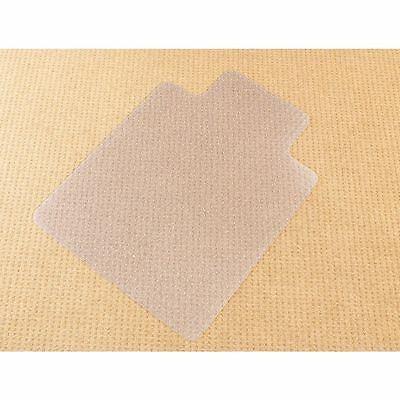Furnx Dimpled Chairmat Clear Large 1350 H x 1150 W mm