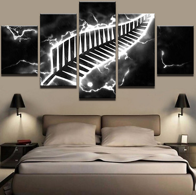 New Zealand All Blacks Modern Decor Wall Picture (5 pce)