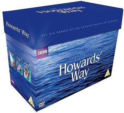 BBC Howard's Way The Complete Series 1-6 Collection DVD Howards Boxset New R2+R4