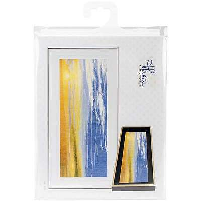 "Sky Study III On Aida Counted Cross Stitch Kit 5.75""X13.75"" 18 Co 499994661708"