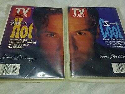 X Files TV Guides