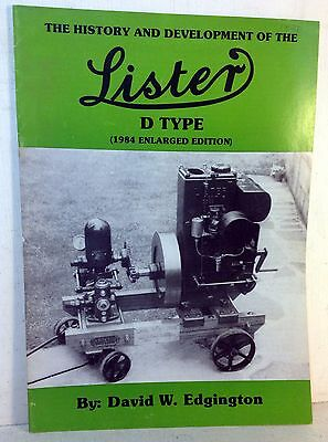 The History and Development of the Lister; D Type By David W. Edgington (5553)