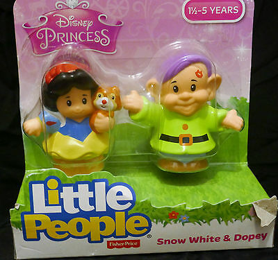 Fisher Price Little People Snow White and the Seven Dwarves Set (Disney) NEW