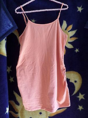 Target Collection Orange Maternity Top Cami Size 12