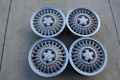"""Holden SLE 15"""" Wheels Cleaned Set of 4 Excellent Condition"""