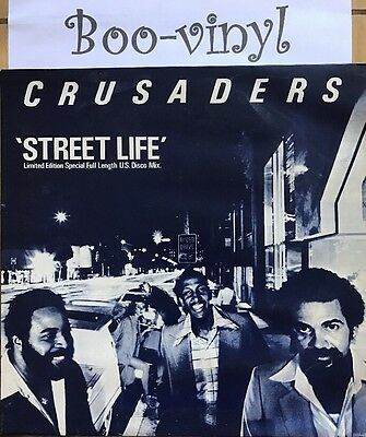 "The Crusaders - Street Life - Limited Edition Original 12"" Vinyl  1979 Ex+"