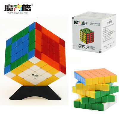 QiYi 5x5x5 Speed Magic Cube Stickerless Ultra-smooth G5 Cube Puzzle Twist Toys