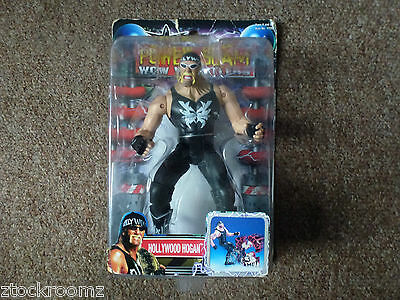 Wcw Power Slam Hollywood Hulk Hogan Wrestling Figure